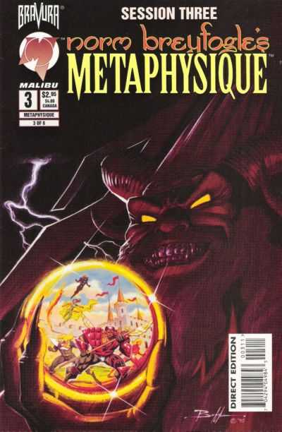 Metaphysique #3 Comic Books - Covers, Scans, Photos  in Metaphysique Comic Books - Covers, Scans, Gallery