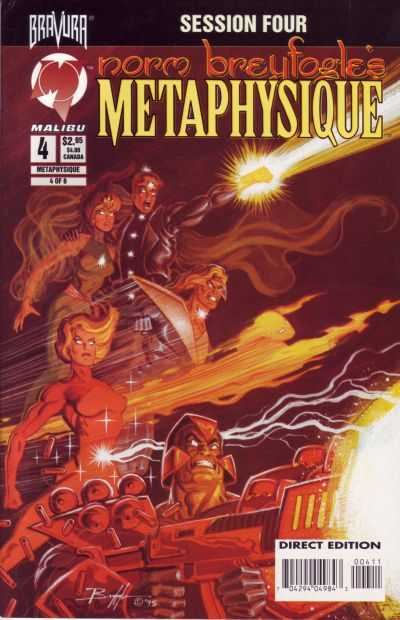 Metaphysique #4 Comic Books - Covers, Scans, Photos  in Metaphysique Comic Books - Covers, Scans, Gallery