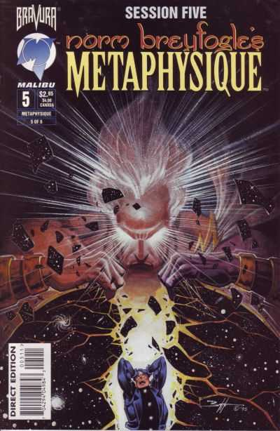 Metaphysique #5 comic books - cover scans photos Metaphysique #5 comic books - covers, picture gallery