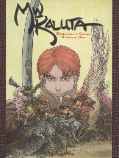 Michael Wm. Kaluta Sketchbook comic books