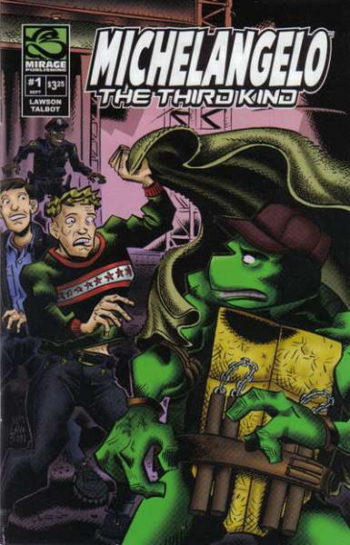 Michaelangelo: The Third Kind comic books