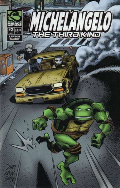 Michaelangelo: The Third Kind #2 comic books - cover scans photos Michaelangelo: The Third Kind #2 comic books - covers, picture gallery
