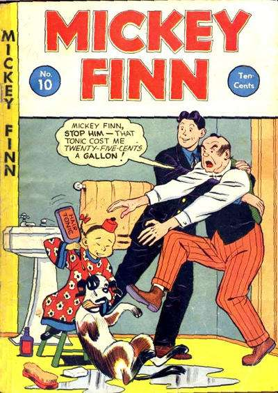 Mickey Finn #10 comic books for sale