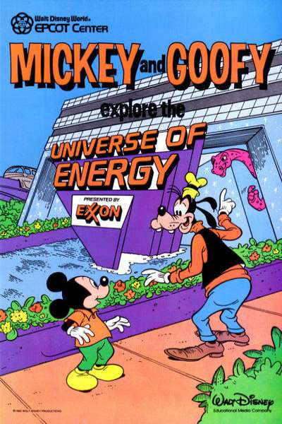 Mickey Mouse and Goofy Explore the Universe of Energy #1 comic books for sale