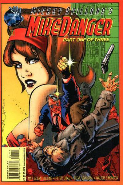 Mickey Spillane's Mike Danger #7 comic books - cover scans photos Mickey Spillane's Mike Danger #7 comic books - covers, picture gallery