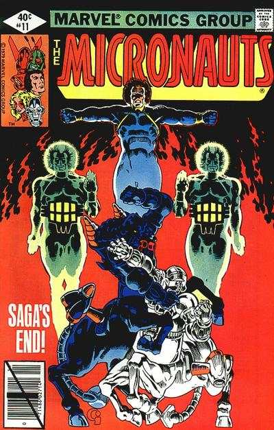 Micronauts #11 Comic Books - Covers, Scans, Photos  in Micronauts Comic Books - Covers, Scans, Gallery