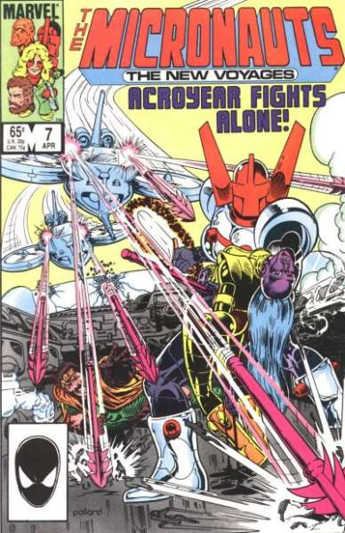 Micronauts #7 comic books for sale