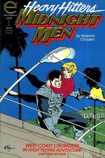 Midnight Men comic books