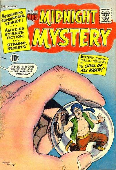 Midnight Mystery #2 Comic Books - Covers, Scans, Photos  in Midnight Mystery Comic Books - Covers, Scans, Gallery