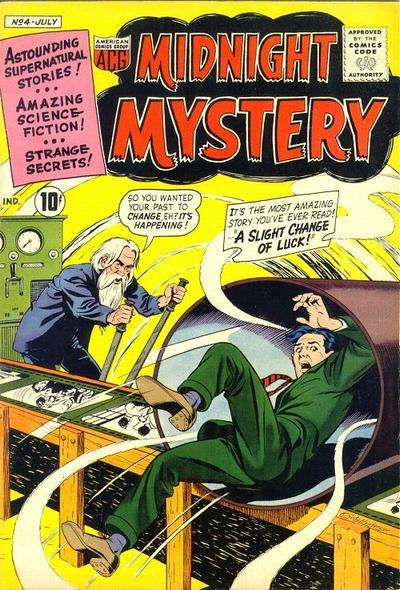 Midnight Mystery #4 comic books - cover scans photos Midnight Mystery #4 comic books - covers, picture gallery