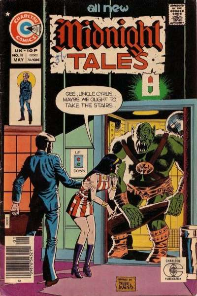 Midnight Tales #18 Comic Books - Covers, Scans, Photos  in Midnight Tales Comic Books - Covers, Scans, Gallery