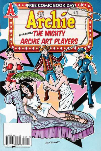 Mighty Archie Art Players #1 comic books for sale