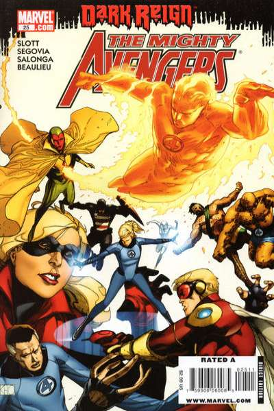 Mighty Avengers #25 Comic Books - Covers, Scans, Photos  in Mighty Avengers Comic Books - Covers, Scans, Gallery