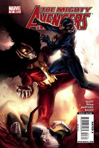 Mighty Avengers #27 Comic Books - Covers, Scans, Photos  in Mighty Avengers Comic Books - Covers, Scans, Gallery