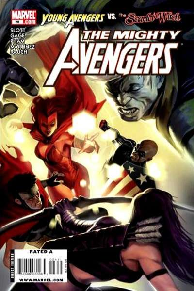 Mighty Avengers #28 Comic Books - Covers, Scans, Photos  in Mighty Avengers Comic Books - Covers, Scans, Gallery