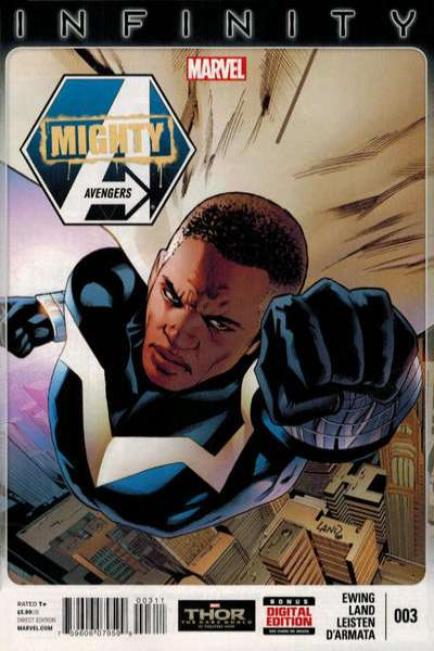 Mighty Avengers #3 comic books for sale