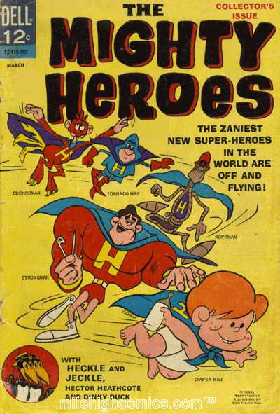 Mighty Heroes #1 Comic Books - Covers, Scans, Photos  in Mighty Heroes Comic Books - Covers, Scans, Gallery