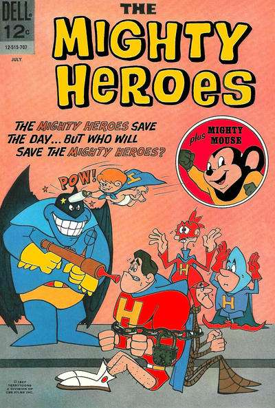 Mighty Heroes #4 comic books - cover scans photos Mighty Heroes #4 comic books - covers, picture gallery