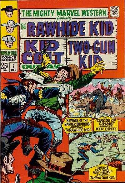 Mighty Marvel Western #2 Comic Books - Covers, Scans, Photos  in Mighty Marvel Western Comic Books - Covers, Scans, Gallery