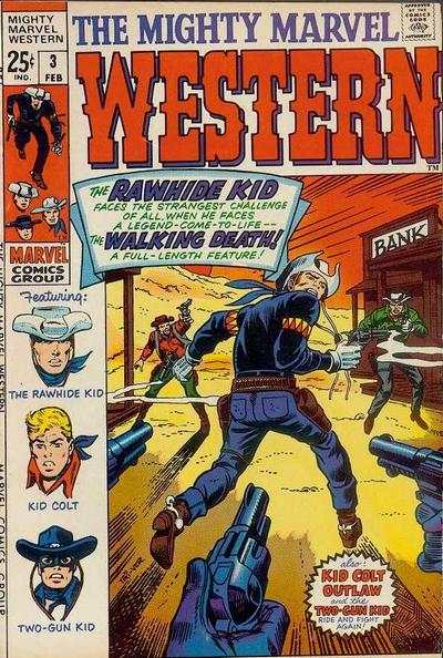 Mighty Marvel Western #3 comic books - cover scans photos Mighty Marvel Western #3 comic books - covers, picture gallery