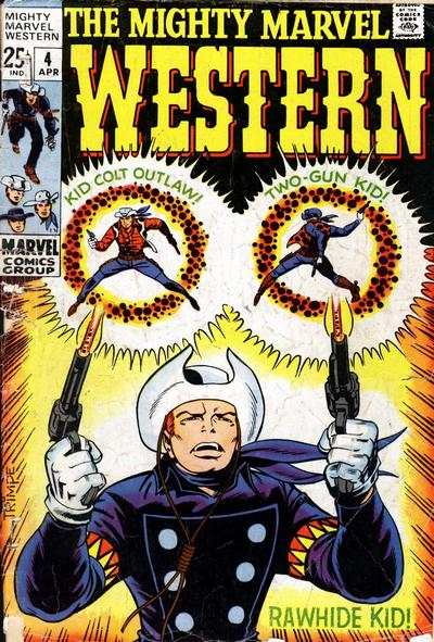 Mighty Marvel Western #4 Comic Books - Covers, Scans, Photos  in Mighty Marvel Western Comic Books - Covers, Scans, Gallery