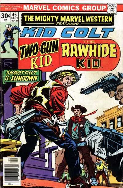 Mighty Marvel Western #46 comic books for sale