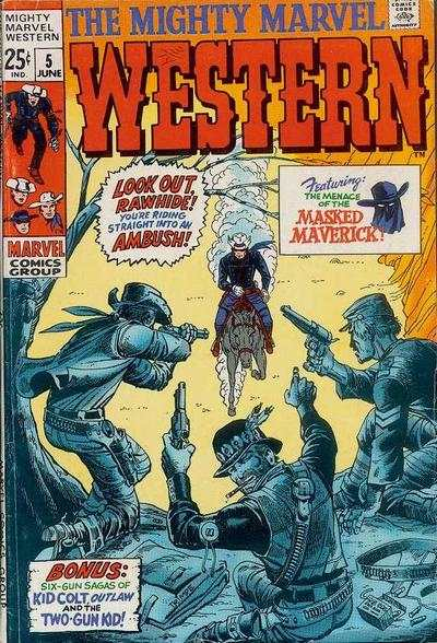 Mighty Marvel Western #5 comic books - cover scans photos Mighty Marvel Western #5 comic books - covers, picture gallery