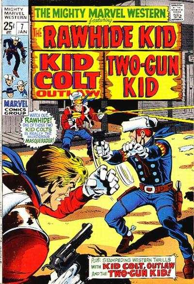 Mighty Marvel Western #7 Comic Books - Covers, Scans, Photos  in Mighty Marvel Western Comic Books - Covers, Scans, Gallery