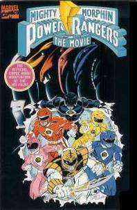 Mighty Morphin Power Rangers: The Movie Comic Books. Mighty Morphin Power Rangers: The Movie Comics.