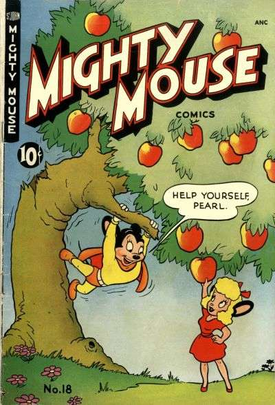 Mighty Mouse #18 comic books for sale