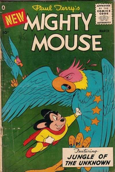 Mighty Mouse #68 comic books for sale
