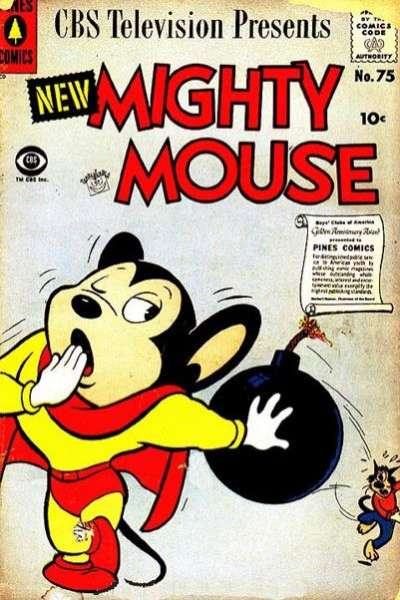 Mighty Mouse #75 comic books for sale