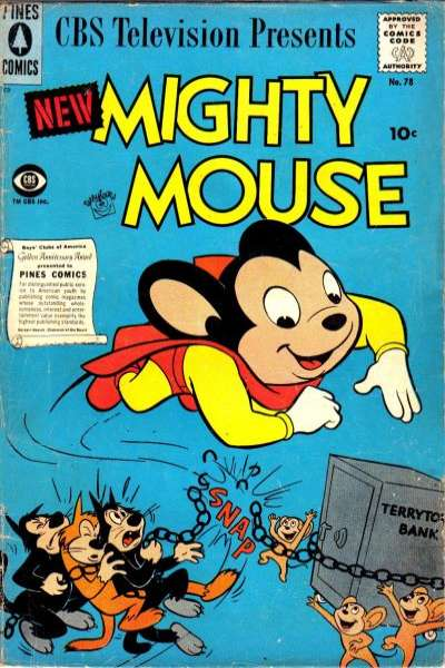 Mighty Mouse #78 comic books for sale