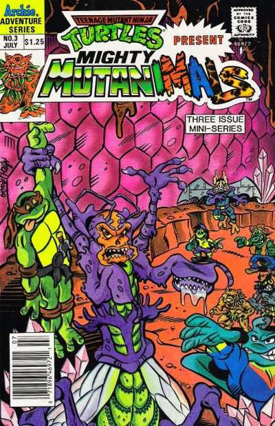 Mighty Mutanimals #3 Comic Books - Covers, Scans, Photos  in Mighty Mutanimals Comic Books - Covers, Scans, Gallery
