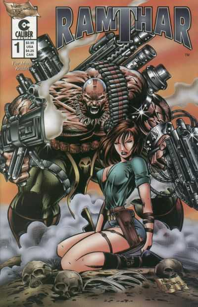 Mike Deodato's Ramthar #1 comic books - cover scans photos Mike Deodato's Ramthar #1 comic books - covers, picture gallery