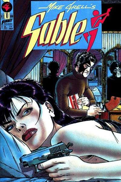 Mike Grell's Sable #10 Comic Books - Covers, Scans, Photos  in Mike Grell's Sable Comic Books - Covers, Scans, Gallery