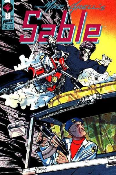 Mike Grell's Sable #9 Comic Books - Covers, Scans, Photos  in Mike Grell's Sable Comic Books - Covers, Scans, Gallery