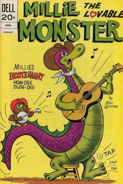 Millie the Lovable Monster #6 Comic Books - Covers, Scans, Photos  in Millie the Lovable Monster Comic Books - Covers, Scans, Gallery