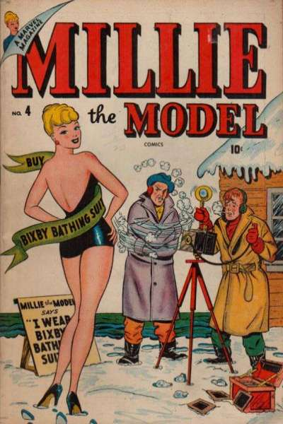 Millie the Model #4 Comic Books - Covers, Scans, Photos  in Millie the Model Comic Books - Covers, Scans, Gallery