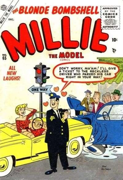 Millie the Model #65 comic books for sale