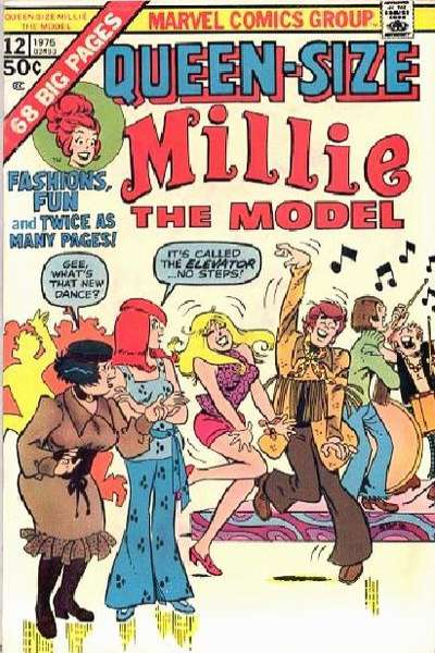Millie the Model #12 comic books for sale