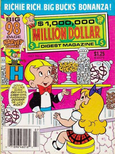 Million Dollar Digest #5 Comic Books - Covers, Scans, Photos  in Million Dollar Digest Comic Books - Covers, Scans, Gallery