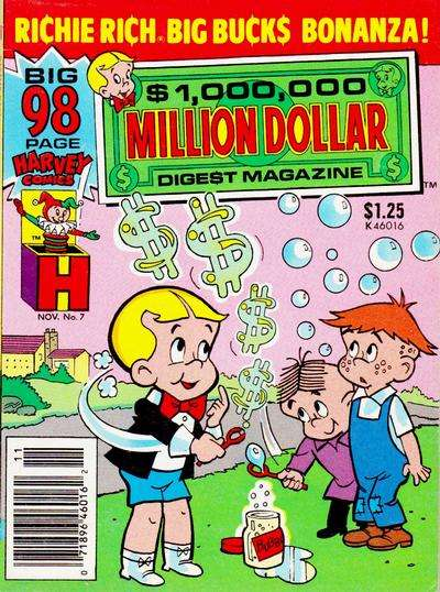 Million Dollar Digest #7 Comic Books - Covers, Scans, Photos  in Million Dollar Digest Comic Books - Covers, Scans, Gallery