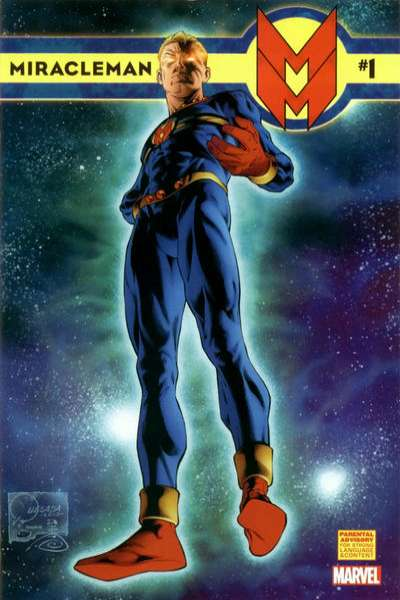 Miracleman comic books