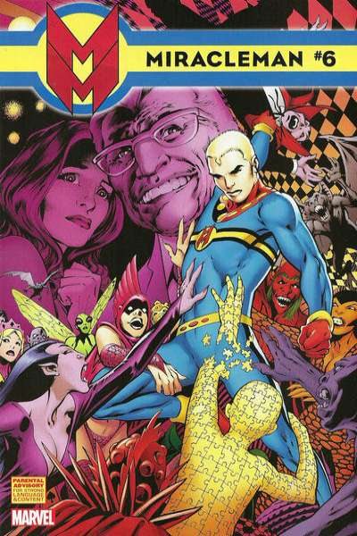 Miracleman #6 comic books - cover scans photos Miracleman #6 comic books - covers, picture gallery