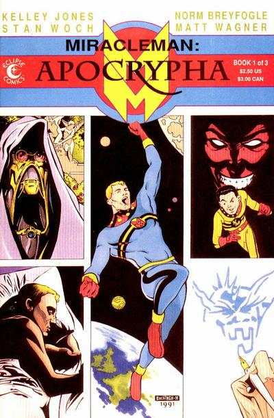 Miracleman: Apocrypha comic books