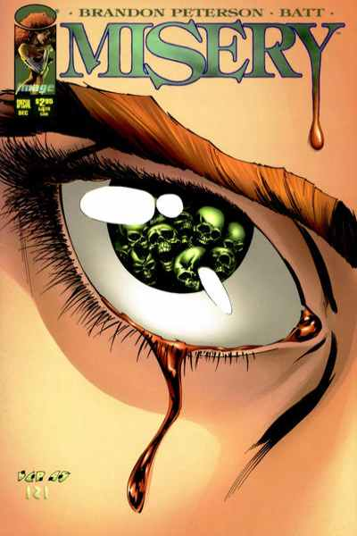 Misery #1 comic books - cover scans photos Misery #1 comic books - covers, picture gallery