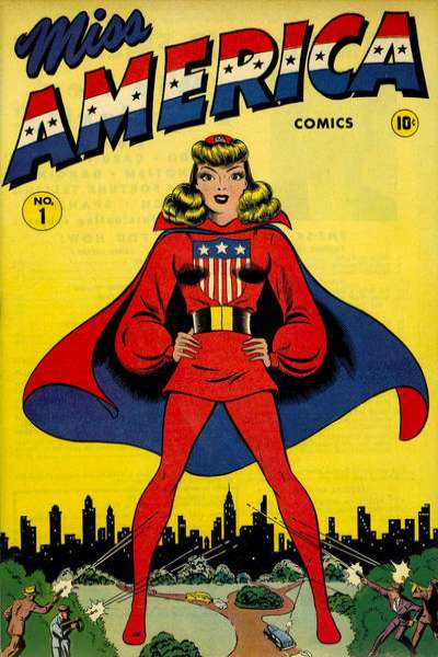 Miss America Magazine: Volume 1 #1 Comic Books - Covers, Scans, Photos  in Miss America Magazine: Volume 1 Comic Books - Covers, Scans, Gallery