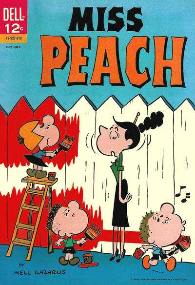 Miss Peach Comic Books. Miss Peach Comics.