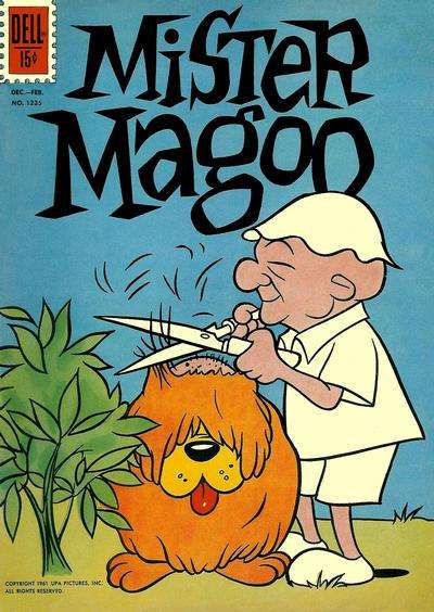 Mister Magoo comic books